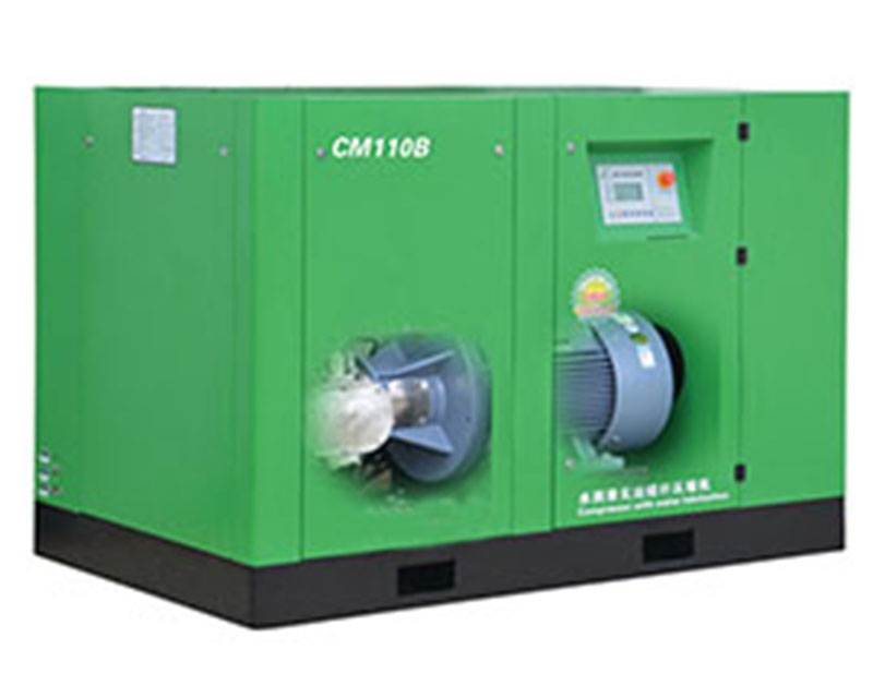 CM / B series of water lubrication oil - free screw air compressor