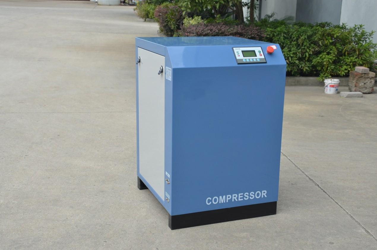 Scroll air compressor workshop