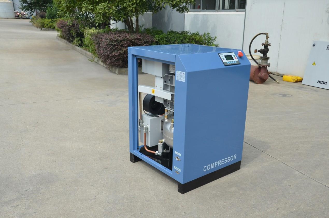 Scroll air compressors workshop